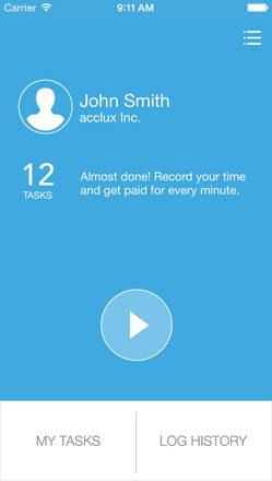 acclux timer Manage your tasks on the go