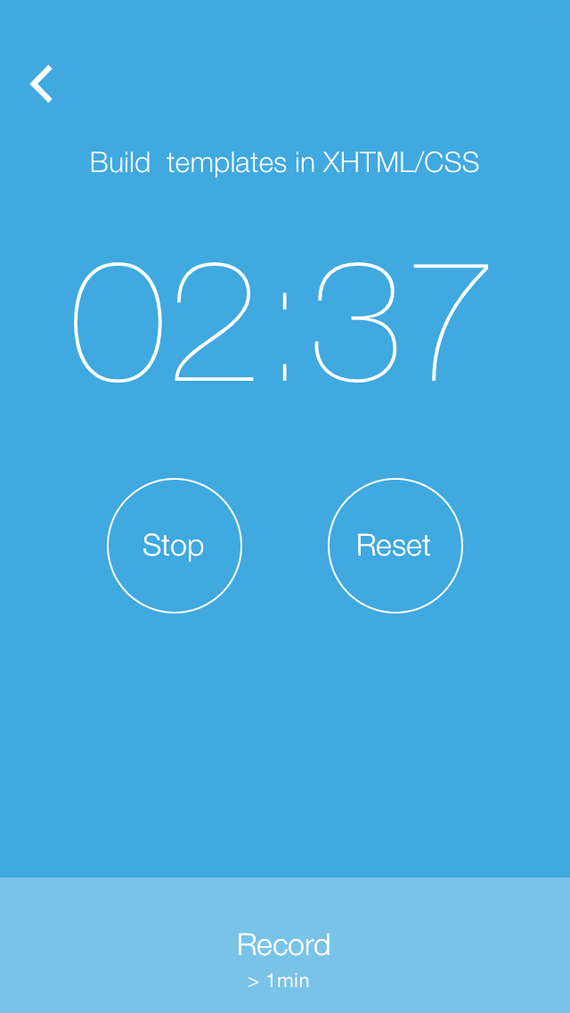 acclux - Record time for specific task using acclux timer